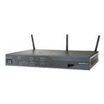 Cisco 881 SRSTW Wireless Integrated Services Router - Refurbished - IEEE 802.11n