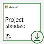 Microsoft Project Standard 2019 - All Languages - License - Download