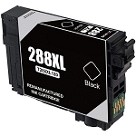 Epson T288XL120 Remanufactured High Yield Inkjet - Black