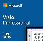 Microsoft MS Visio Professional 2019 Product Key License - Download