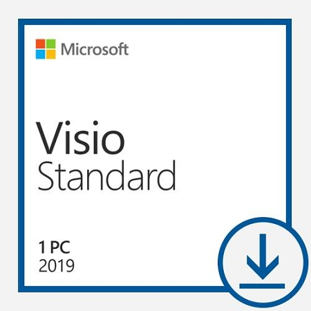 Microsoft Visio Standard 2019 - All Languages - License - Download