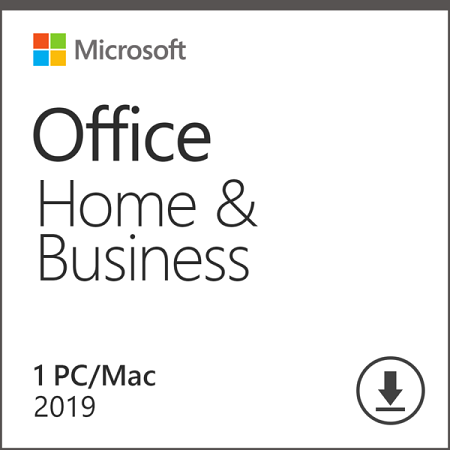 Office Home Business 2019 1 Device Product Key Card Mac Windows